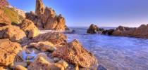 New-Port-Beach-Rocks